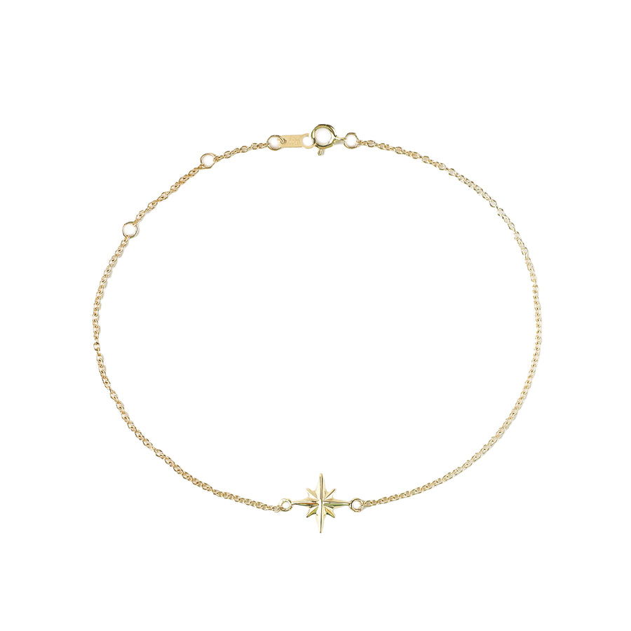 IN STOCK | CELESTIAL BRACELET | 14K YELLOW GOLD