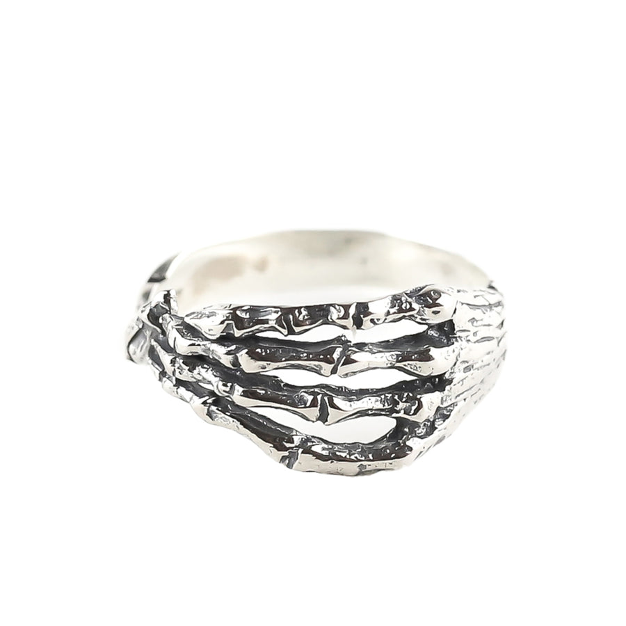 IN STOCK | SKELETON HAND RING | SILVER