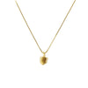CAST QUARTZ CRYSTAL ADJUSTABLE NECKLACE | GOLD VERMEIL