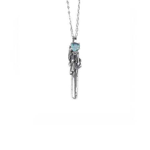 Necklace - KEY TO THE UNKNOWN | SILVER & LABRADORITE