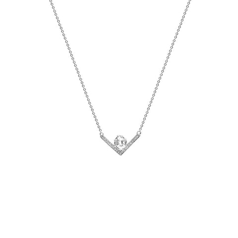 Necklace - VENUSIAN NECKLACE | SILVER & DIAMONDS