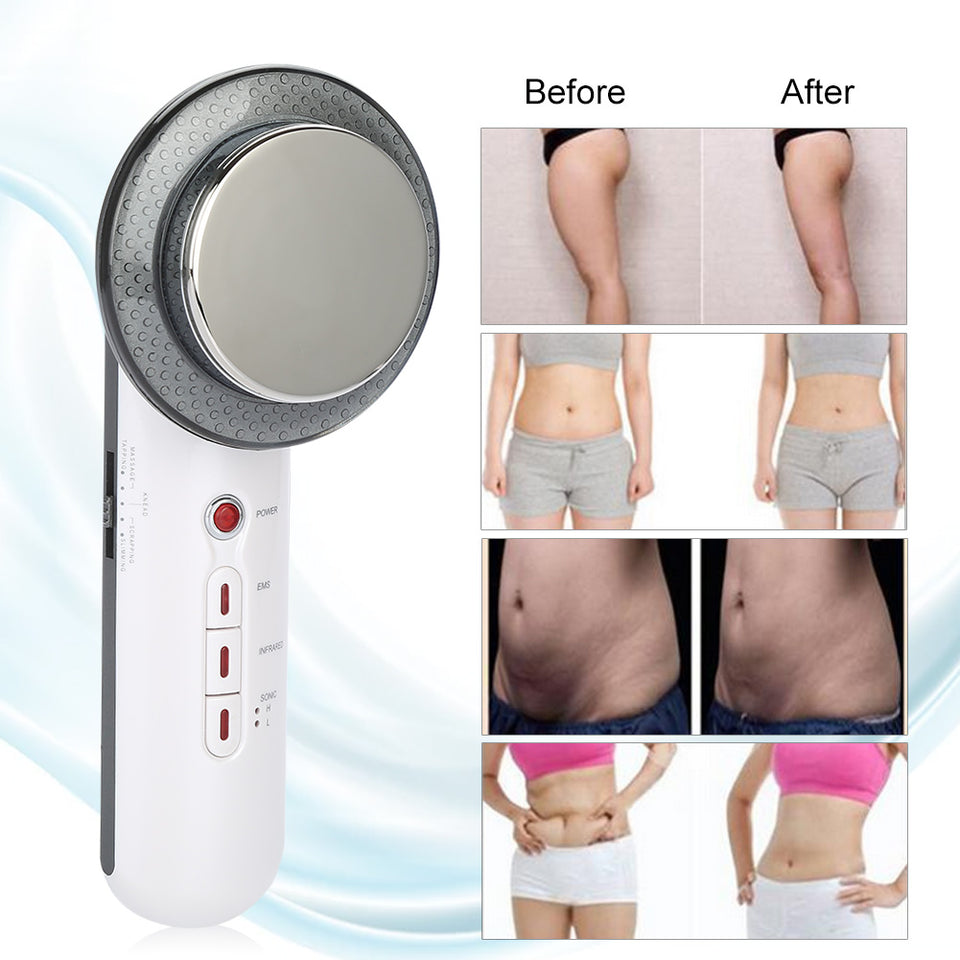 Ultrasound Cavitation Body Toning Massage Machine - Weight Loss Ultrasonic Therapy