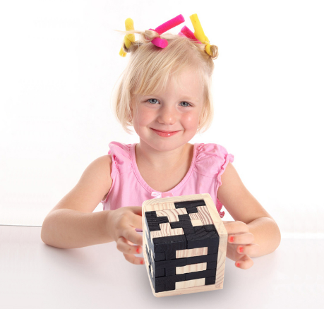 Square Cubic Baby Building Toy Brick