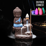 Buddha Incense Burner(20 Cones Included)