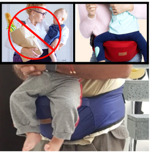 The Amazing Baby Hip Seat - Waist Carrier