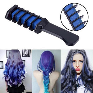 MINI DISPOSABLE TEMPORARY HAIR DYE COMB