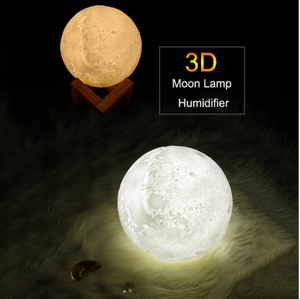3D Moon Lamp Air Humidifier