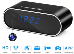 HD 1080P Wireless Alarm Clock Security  Camera