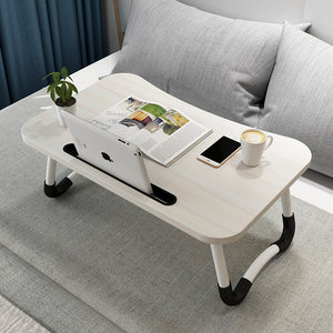 Fordable Laptop Table  -Great for in bed or on sofa - Holds Tablet/ Ipad