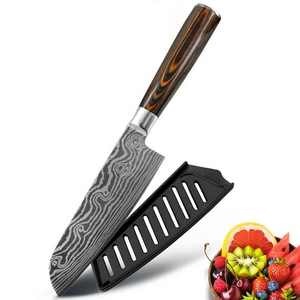 Stainless Steel Japanese Style Kitchen Knife / Knife Set