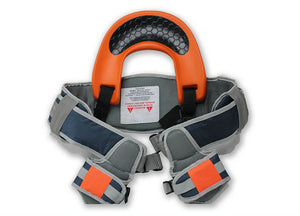 Hands-Free Shoulder Carrier with Ankle Straps and Cushioned Hip Seat