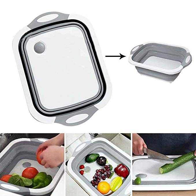 The Amazing Foldable Chopping Board (changes into a bowl)