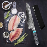 "XITUO Damascus Steel Professional Chef Knife 8"" inch -  67 Layers"