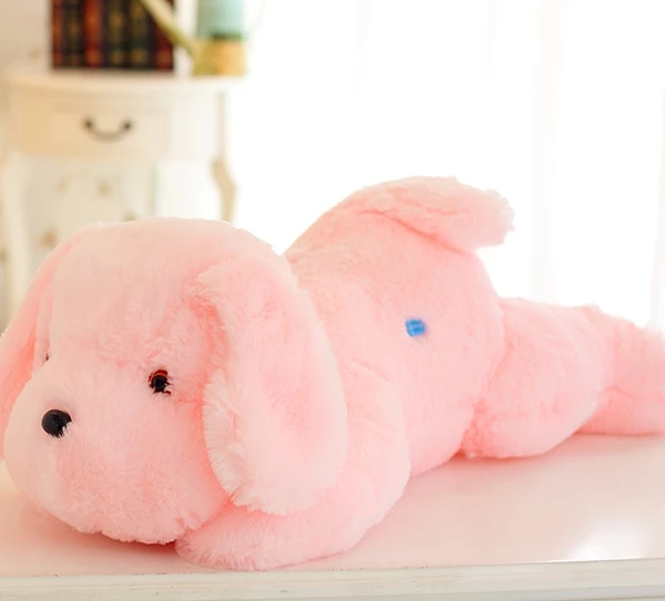 Soft Fluffy Dog Toy Pillow