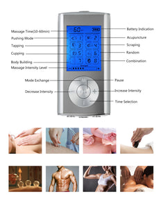 Electrotherapy Muscle Stimulator - 8 Modes