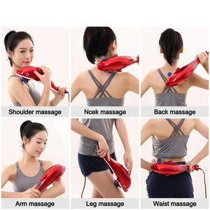 Full Body Electric Shiatsu Neck Back Massage Hammer