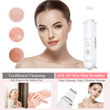 Skin Scrubber Ultrasonic Deep Face Cleaning Machine