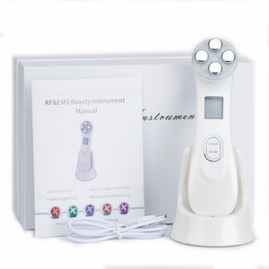 5 in 1 RF & EMS LED Photon Mesotherapy Electroporation Face Beauty Device