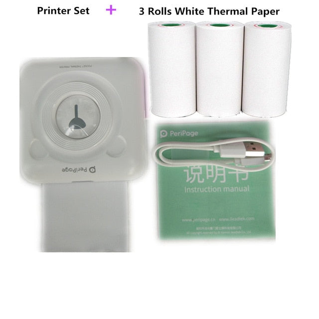 Pocket Portable  Bluetooth Thermal Printer