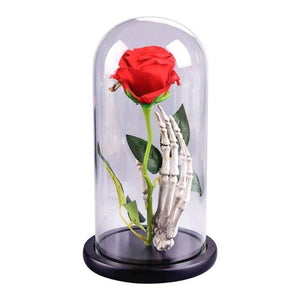 Enchanted Rose Flower Lamp - Beauty and the Beast