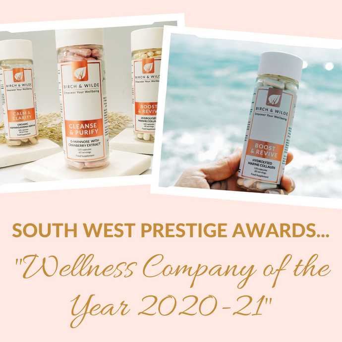 BIRCH & WILDE WINS PRESTIGIOUS WELLNESS AWARD!