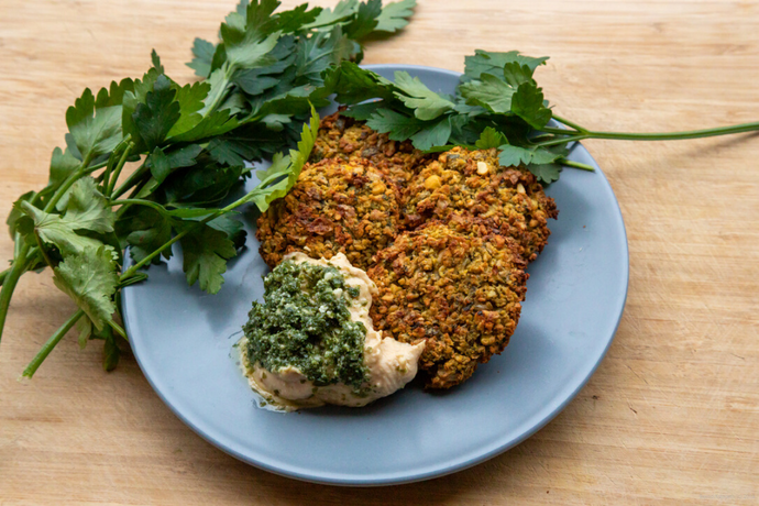 THE TRAVELLING VEGAN: Warming Winter Falafels