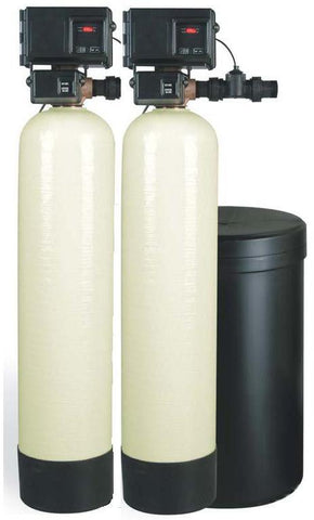 Fleck 2900S Twin Commercial Water Softener | Fleck 3200NXT Timer | Water Softener