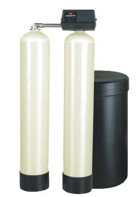"Fleck 9000 Commercial Water Softener | Twin-Alternating Water Softener | 1"" Metered 