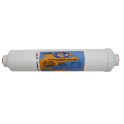 Rainsoft 10 Post Carbon Water Filter | 1/4 Quick Connect | Rainsoft Water Filter