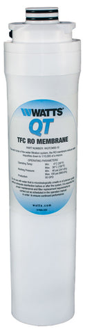 Watts Qt Quick Twist Reverse Osmosis Membrane | Wqtcm50-10 | Watts Filter
