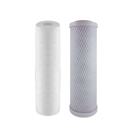 Sediment and Carbon Block Reverse Osmosis Filter Set