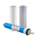 3 Stage Reverse Osmosis Filter Set With Membrane