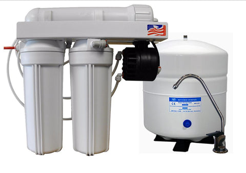 Proseries 4 Stage Reverse Osmosis System With Permeate Pump | Proseries Reverse Osmosis System