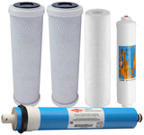5 Stage Reverse Osmosis Filter Set With Filmtec RO Membrane