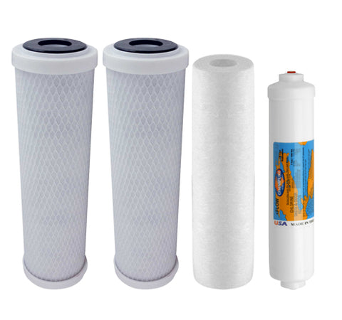 5 Stage Reverse Osmosis Filter Set | Standard RO Water Filters | Reverse Osmosis Filters