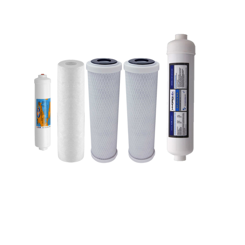 Proseries 6 Stage Remineralizer Water Filter Set | Reverse Osmosis Filters