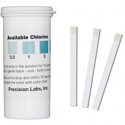 Chlorine Water Test Strips - Reverse Osmosis Superstore