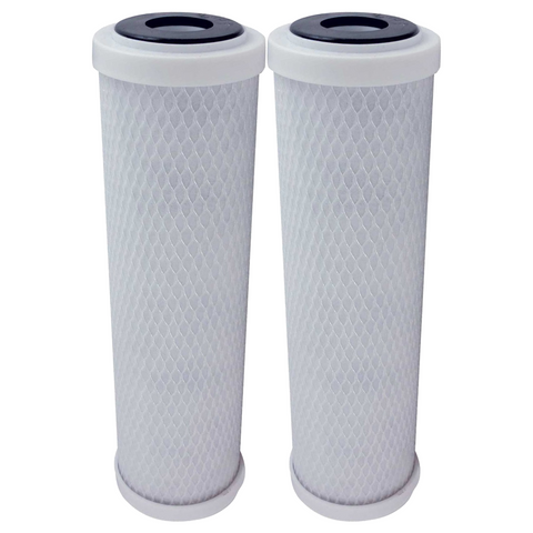 Clean World Waters Water Filters  CWW-1T Filters 2 Carbon Block Filter