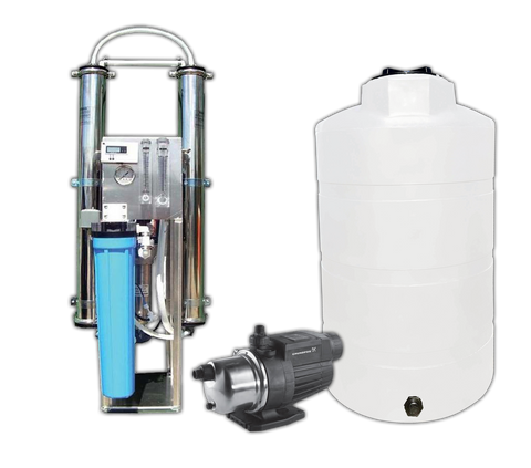 Complete Commercial Water System | 8800 GPD Water Filter System | Commercial Reverse Osmosis Water Filter System Commercial Reverse Osmosis Water Filter System