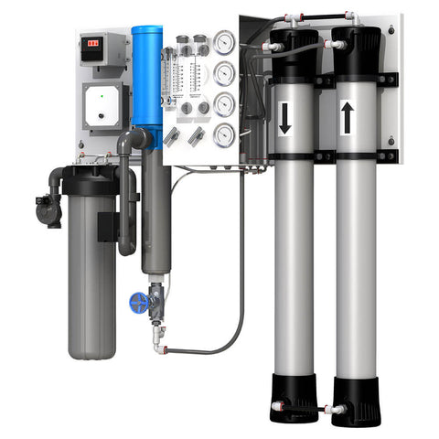 Flexeon JT 2000 GPD Commercial Water System | Wall Mounted Commercial Water System | Axeon Commercial Reverse Osmosis