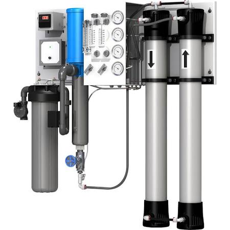 Flexeon JT 4000 GPD Commercial Water System | Wall Mounted Commercial Water System | Axeon Commercial Reverse Osmosis