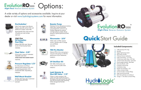 Evolution Ro1000 Reverse Osmosis System On Demand Water