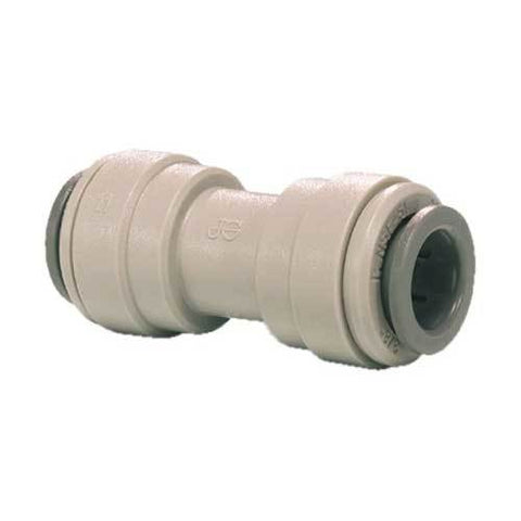 "John Guest 5/16"" QC X 3/8"" Quick Connect Union Reducing Connector 