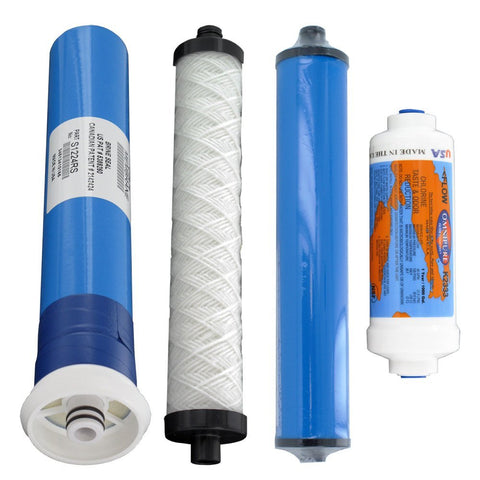 Microline Reverse Osmosis Water Filter Set | Microline C-14 Filters | Microline Filter