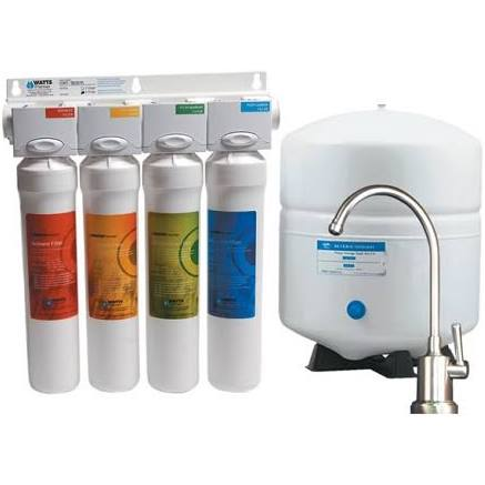 Premier Watts RO Pure RO-4 Reverse Osmosis System 50 GPD Watts Drinking Water System