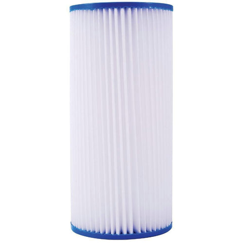 "Pleated Big Blue Sediment Water Filter | Standard 4.5"" X 10"" Size 