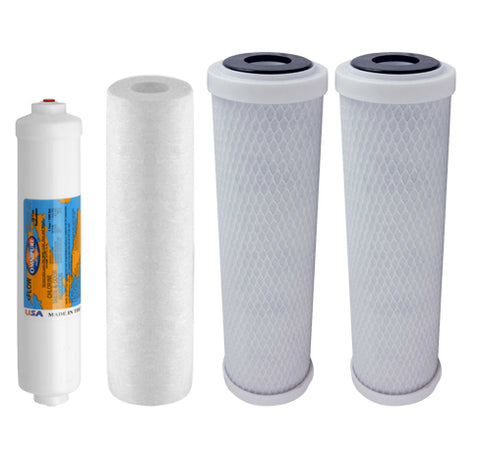 Proseries 5 Stage Water Filter Set | Reverse Osmosis Filters | Proseries Filter