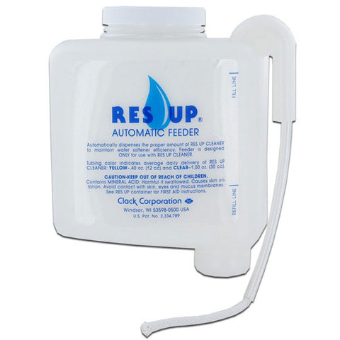 Res-Up Resin Feeder | 1Oz Water Softener Resin Feeder | Resin Cleaner Feeder