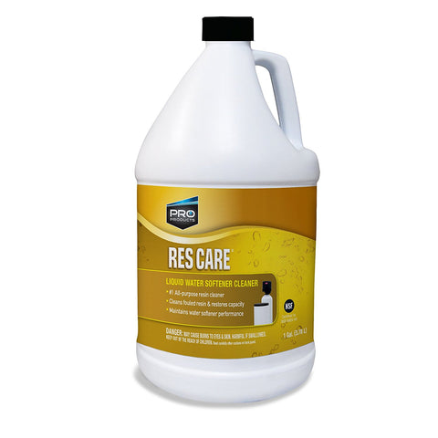 Res Care Water Softener Resin Cleaner Gallon