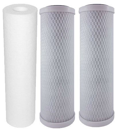 Standard Reverse Osmosis Filters | Sediment Filter and Carbon Block Filter